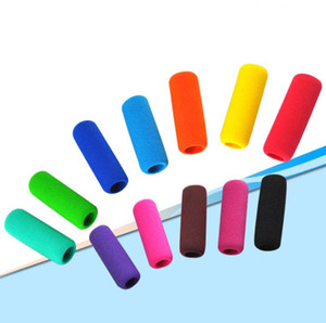 Classics personalizado NBR EVA suave espuma Tubo Pencil Grips For Kids fontes de escola SN1425 Atacado