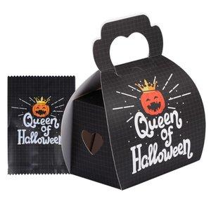 1 Set Halloween Pumpkin Treat Saco dos doces Box Set extras Box Bag Kit