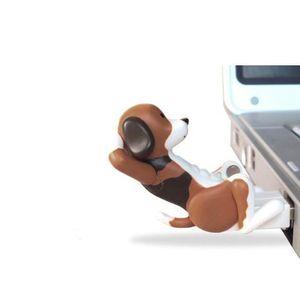 Nuevo mini divertido lindo del Usb de perro de juguete del punto Humping Gadgets Humping portátil USB alimentado perro para Pc regalo para los cabritos
