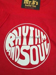 Ritmo And Soul T-shirt Northern Soul Aretha Franklin album anni '60 stile vintage 45