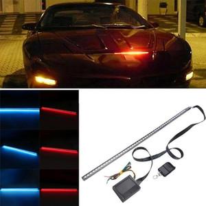 22inch 48LED RGB Car Scanner Knight Rider Strobe Flash Light Strip+Remote Auto Working Light Decoration Lamp for Car Dropship