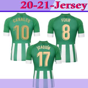 MAN 20 21 Real Betis Football Jersey JOAQUIN Loren Boudebouz MANDI BARTRA Tello GARCIA CANALES édition commémorative Fekir 8