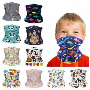 Maschera Viso bambini senza soluzione di continuità alla polvere del fumetto Buff sciarpa antivento traspirante protezione solare bambino Bandana per Outdoor Ciclismo FFA4375