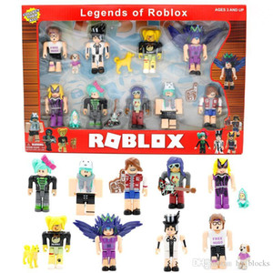ROBLOX Game Nine Figure Pack 7cm Model Dolls Cartoon Anime Action Figures Building Blocks Christmas Gifts Boys Kids Toys