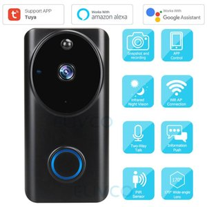 IP Camera Video campanello Tuya 1080P WiFi Smart Video citofono campanello per porte di sicurezza domestica monitor compatibile Alexa Google Assistant