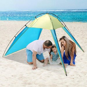 2020 Men Women Outdoor Camping Beach Tents UV Protection Summer Sun Shade Shelter for Camping Hiking Fishing Indoor Yard Tent