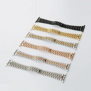 Solido acciaio inossidabile Oyster polso per il braccialetto di Apple del cinturino di ricambio Loop 42 44 millimetri per iWatch Serie 5 4 3 2 Accessori 1strap