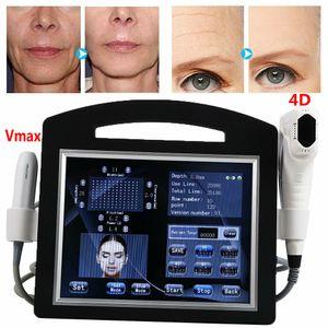 2020 Новый 4D HIFU + Vmax Hifu 12 линий ультразвуковая абляция Hifu машина удаления морщинки для лица и тела для похудения тела