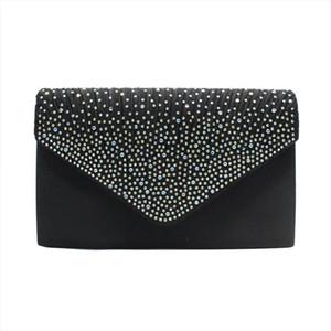 New Fashion Lady Glitter Evening Handbag Wedding Party Clutch Bag Women Purse Glitter Shiny Envelope Clutch Bag Wedding Bags