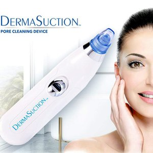 New DermaSuction Remover Facial Pore Cleaner Electric Pore Vacuum Extraction Removal Rechargeable Skin Peeling Machine