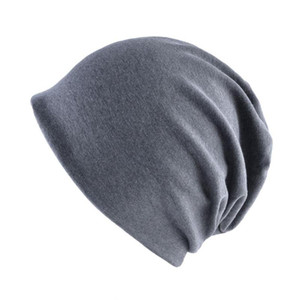 cofani cotone sottile primavera estate per berretto berretto a visiera chemio benna del cappello delle donne Beanie cappello femme cappello Panama per gli uomini di