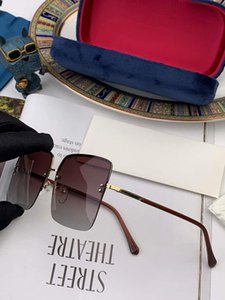 2020 Newest Summer Mens Womens Designer Sunglasses G09008 Letters Goggle Sunglasses UV400 3 Colors Lightweight with Box