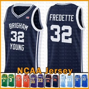 Jimmer 32 Fredette Kyrie NCAA Brigham Young Cougar Irving Stephen Curry 30 Basketball Jersey Dwyane Wade 3 LeBron 23 James Allen Iverson 3
