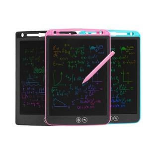 Локальное Стирание LCD дощечку Цвет шрифта Детский интеллектуальный электронный чертежной доски LCD почерк планшета 8,5 дюйма 10 дюймов 12 дюймов 1шт