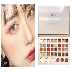 Popular 38 color shimmer eyeshadow palette glitter pearlescent eye shadow waterproof easy to color eye makeup