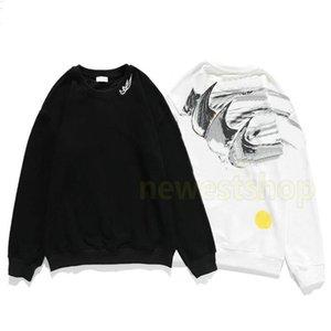 2020 fashion designer luxury clothes mens graffiti collaboration hoodies Cotton Hoodie hoody womens Casual Street Sweatshirt Unisex Jumper