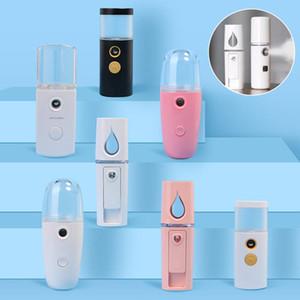 Mini Agua Reposición instrumento portátil spray frío facial hidratante Dispositivo vapor facial hidratante de belleza Nano pulverizador XD23865