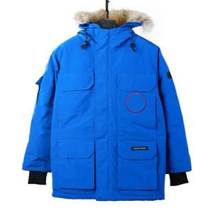 Designer de roupas Jacket homens casacos de peles com capuz de Down Parkas Bomber lã inverno Windbreaker espessura quente casacos esportivos casuais Casacos ao ar livre