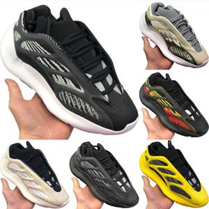 With Box 2020 Foam Runner 700 V3 Azael Static Reflective Running Shoe Originals Kanye West 700 V3 Azael Buffer Rubber Jogging Shoe