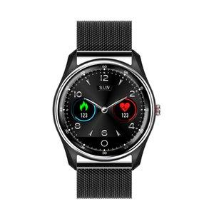 New MX9 ECG PPG Smart Watch Men IP68 Waterproof Color Screen Heart Rate Boold Pressure Monitor Call Drink Reminder Bracelet Men