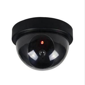 Пустышки Поддельных камер Сымитированной Безопасность Видео видеонаблюдение Поддельные пустышки Ir водить купольную камеру Круглого генератор сигналов безопасности Поставка LSK808