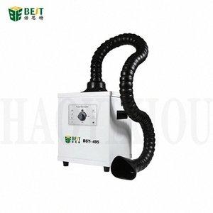 BST-495 фильтр Выхлопная Промышленный Очищающий инструмент для пайки дыма Fume экстрактор для лазерной отделяя машина QZcn #