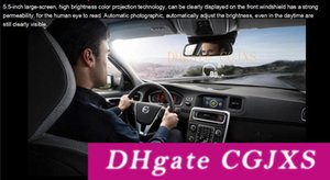 5PCS Ifound 허드 S5 OBD 일반적인 운전 결함 검출기 스마트 미터 연료 온보드 컴퓨터 디스플레이 주행 자동차 허드 5 0.5 인치 컬러 프로젝션