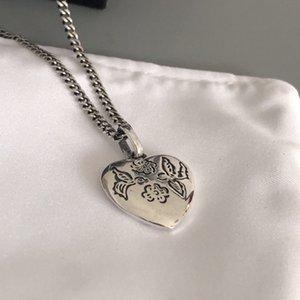 Dongguk porte de collier en argent ste ins personnalité d'amour sourire net en rouge chaîne d'argent étoile à cinq branches clavicule