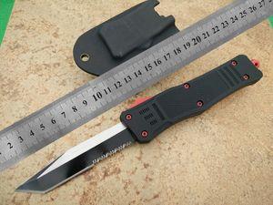 "A161 CNC mini VG10 blade 60-62HR Benchmade BM3300 UTX85 UT121 trumpt 3 ""T6 aluminum handle camping automatic knife EDC tool"
