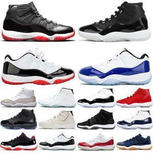 nike air jordan retro 2019 Bred 11s 11 hombres mujeres zapatillas de baloncesto Concord Metallic Silver Cap And Gown hombres zapatillas deportivas zapatillas de deporte