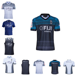 2021 Fiji Rugby League Copa Mundial de Seven de JERSEY suéter pantalones cortos Edición de recuerdo héroe de la vendimia chaleco de los niños del desgaste del entrenamiento camiseta S-5XL