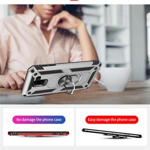 Para Samsung híbrido anillo de la armadura Soporte universal de deportes al aire libre de caja del teléfono Shockprook anti-caída cubierta del teléfono