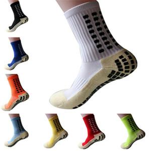 New Sports Anti Slip de soccer Chaussettes de football en coton chaussettes hommes Calcetines (du même type que le Trusox)