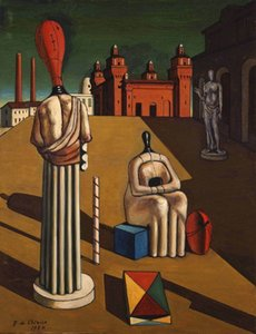 Giorgio De Chirico Home Decor Handpainted &HD Print Oil Painting On Canvas Wall Art Canvas Pictures A576