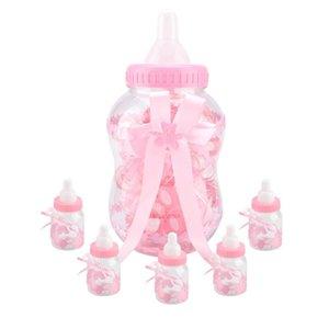 30pcs Baby Shower бутылки Мини заполняемые бутылки для партии благосклонности коробки Подарочные коробки конфетти Подарки на день рождения Baby Shower
