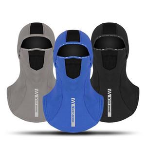 Велоспорт Headgear Зимний Открытый Теплота и флис Headgear С хвоща Рот Холодостойкие Ночь Светоотражающие Лыжи Hat