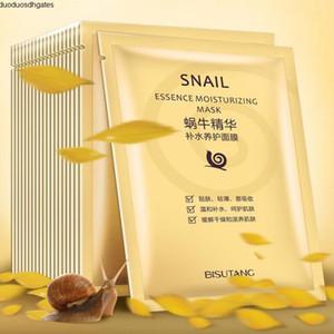 Feuchtigkeitsspendende Bisutang Snail Mask Essence Feuchtigkeitsmaske Oil Control Gesichtsmasken Gesichtsmaske Hautpflege glatt