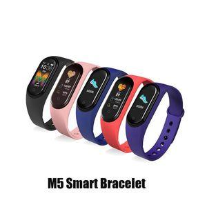 rastreador M5 Smart Call reloj SmartBand la aptitud del deporte inteligente pulseras de la presión arterial real monitor de ritmo cardíaco impermeable SmartWatch VS M3 M4