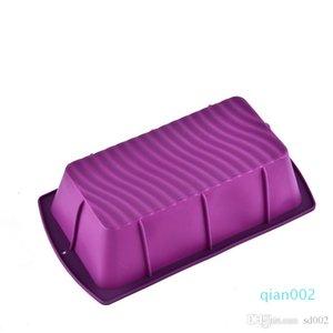 Практический торт прессформы продолговатой формы силикона DIY Toast Box Многофункциональный жаропрочных Кухня Easy Carry 2 8rx куб.см