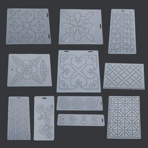 1Pc Plastic Quilting Stencil Template Quilt Tool Transparent For Embroidery Patchwork Painting Sewing DIY Handmade Craft Tools