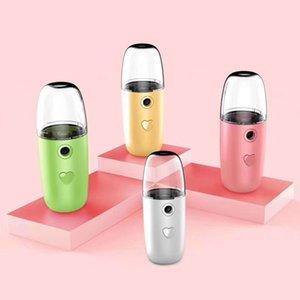 Botella para rociar la cara de Mister Nano vapor facial hidratante del rociador fresco de la cara de la piel spray recargable USB herramientas de cuidado del vapor