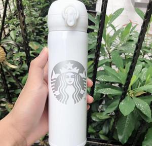 2020 com canecas Mulheres inoxidáveis e café Starbucks Copos de aço favoritos Homens Starbucks Copos de envio Suporte a mais recente 16oz Copo livre ZCGEM