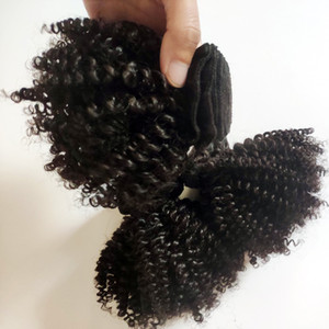 Beautiful Kinky Curly Brazilian Virgin Hair Extensions Unprocessed Best quality Indian Human Hair Weaves Cheap Factory price in stock