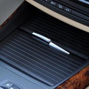 Car Center Console Cover Diapo VOLET ROULANT Supports de voiture boissons Support à l'eau Cup Rack pour X5 E70 X6 E71