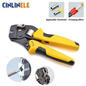 0.08-16mm 11-5AWG requintados ajustáveis precisos Crimp Pliers VE Tubo Bootlace Terminal engaste Ferramenta de Mão HSC8 6-4 VSC10 16-4 Y200321