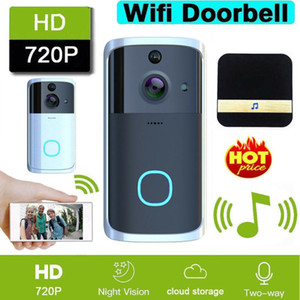 M7 Smart Video Wireless WiFi Doorbell IR Visual Camera Wifi Two Way Intercom APP Remote Alarm Door Bell Home Security System