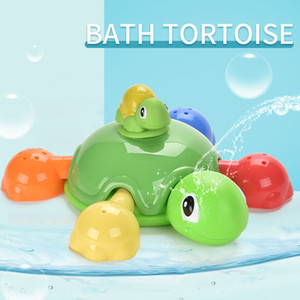 Baby bath toy bath turtle to accompany the bath fancy play water,A playful companion for a baby bathing in a stream
