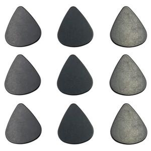 Triangle Black Plastic Pollen Scraphers per erbe Grinder ABS Polline Palen Shovel per tabacco Chitarra Pick Accessori per fumo Premium