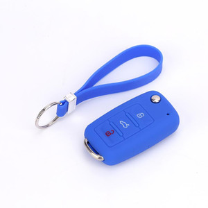 Cheap Price Promotional Gifts Eco Friendly Soft Rubber Silicone Wrist Keychain Keyring Simple Strap Keychains Useful Key Chain