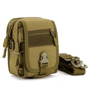 Wear Resistant Outdoor Riding Backpack Shoulder Bag Mini Messenger Bags Travel Backpack Camouflage Running Bag